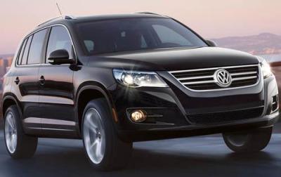 2010 Volkswagen Tiguan - Fuel Tank Capacity. Gallons, Liters